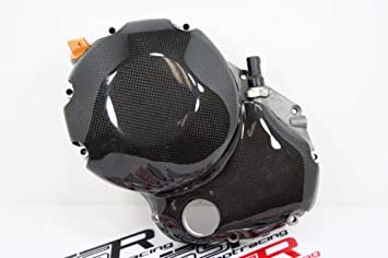 Amazon Com Ducati Carbon Fiber Fibre Wet Clutch Engine Cover
