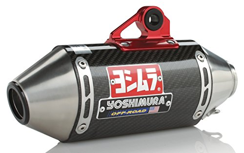 Yoshimura 17-19 Honda Grom RS-2 Works Finish Full System Exhaust (Race/Carbon Fiber) (125 Motorcycle Cc)