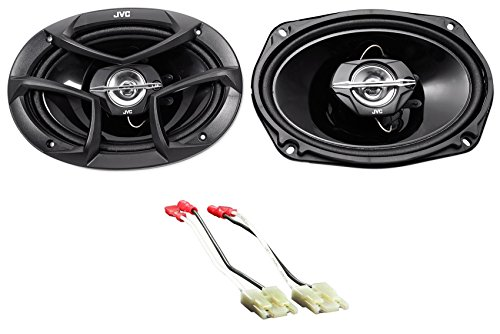6x9 JVC Door Factory Speaker Replacement for 1994-02 Dodge Ram 2500/3500 ()