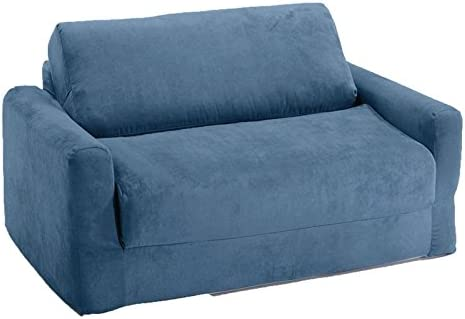 Fun Furnishings Sofa Sleeper, Blue