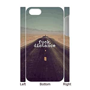 3D Bumper Plastic Case Of Fuck customized case For Iphone 4/4s by lolosakes