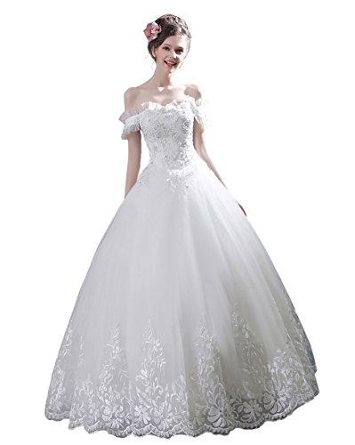濃度未知のめまいが花嫁 ベアトップドレス ウェディングドレス ロングドレス 締上げタイプ 編み上げドレス スレンダーライン ウエディングドレス ブライダルドレス