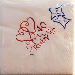 partyrama servilletas para aniversario de boda diseo con palabra