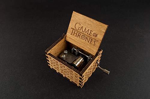Caja de música grabada Juego de Tronos - Game of Thrones. Envío gratuito.: Amazon.es: Handmade