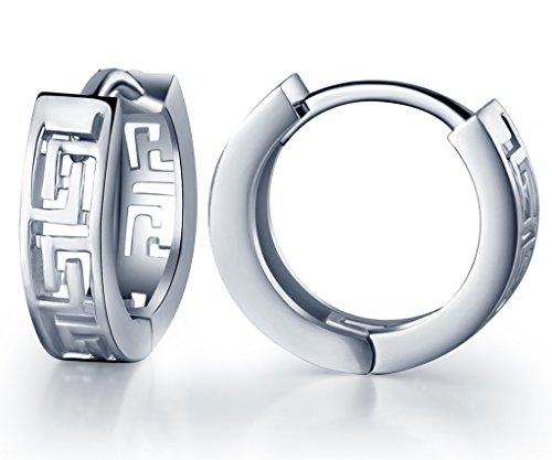 Infinite Huggie Earrings Sterling Silver