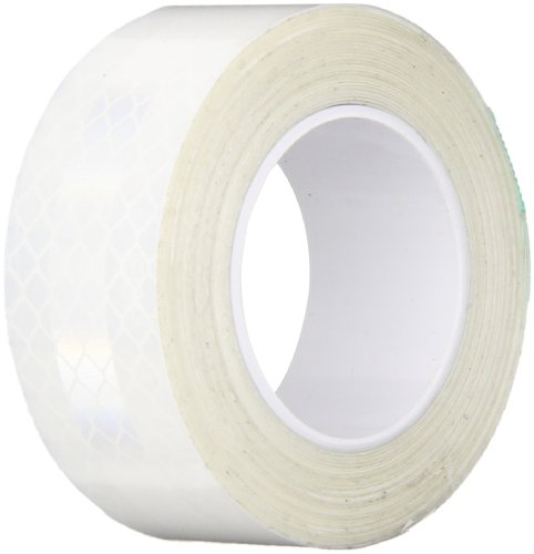 TapeCase 3290 1in X 5yd White Reflective Tape (1 Roll) ()