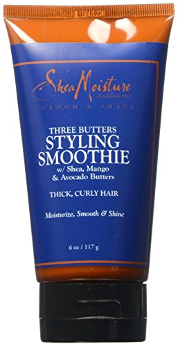 Shea Moisture Three Butters Styling Smoothie, 6 Ounce by Shea Moisture