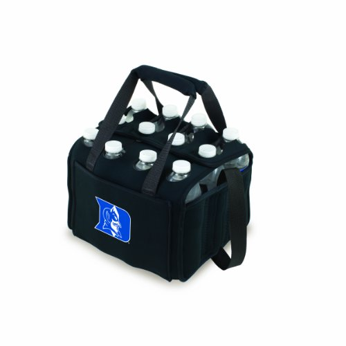 NCAA Duke Blue Devils Beverage Buddy Insulated 12-Pack Drink Tote, Black