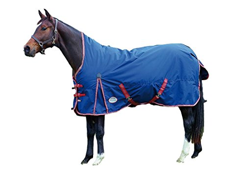 l 1200D Lite Weight Turnout Sheet- Navy/Red/White-72
