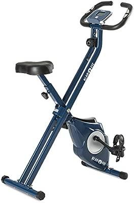 KLAR FIT Klarfit Azura Bicicleta estática Plegable (pulsómetro ...