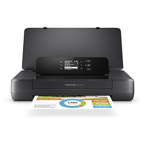 - HP OfficeJet 200 Portable Printer with Wireless & Mobile Printing (CZ993A)