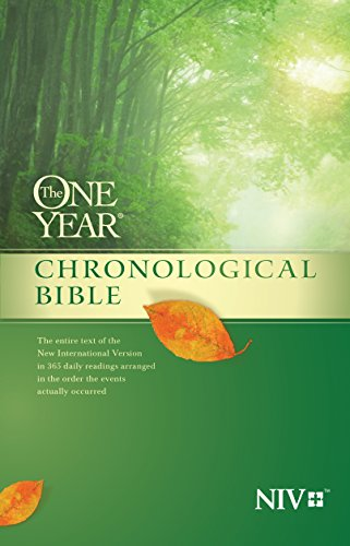 The One Year Chronological Bible NIV by [Tyndale]