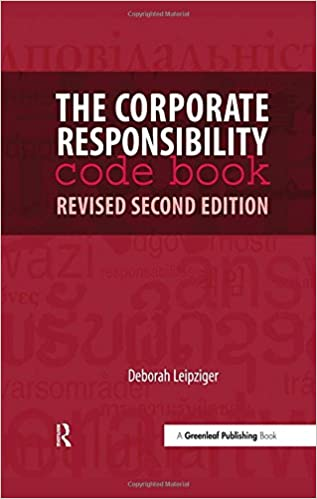 The corporate responsibility code book revised second edition the corporate responsibility code book revised second edition deborah leipziger 9781906093396 amazon books fandeluxe Choice Image