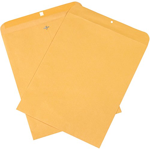 Boxes Fast BFEN1009 Clasp Envelopes, 12