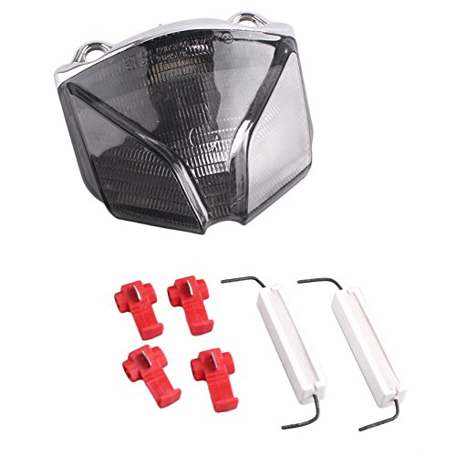 GZYF LED integrated Tail Lamp with Turn Signals For MV AGUSTA STRADA F4/F1000/BRUTALE/STRATA 2001 2002 2003 2004 2005 2006 2007 2008 2009 (Led Strata)