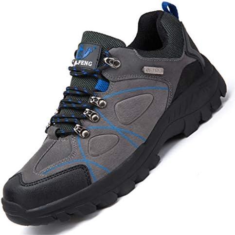 トレッキングキャンプトレイルランニングシューズウォーキングのためのハイキング靴メンズトレイル軽量ノンスリップ屋外スニーカー (Color : Green, Size : 41)