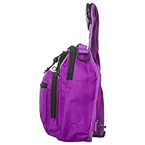Sweetbriar Bag Backpack, Purple - Durable Single Strap Shoulder Pack for Indoor/Outdoor Use