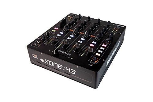 (Allen & Heath Xone:43 High Performance 4 + 1 Channel Analog DJ Mixer (AH-XONE:43))