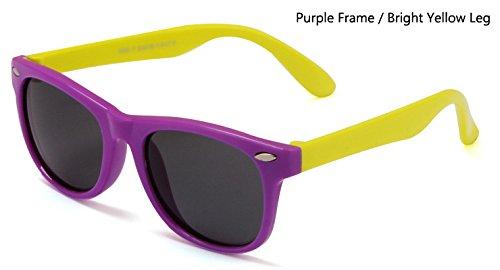 de os Gafas seguridad TPEE brillante amarillo UV400 con Sombras os flexibles ni sol Hykis os TR90 Gafas los sol polarizadas de Gafas p¨²rpura de Recubrimiento gafas Ni sol ni de axqZzwqOA