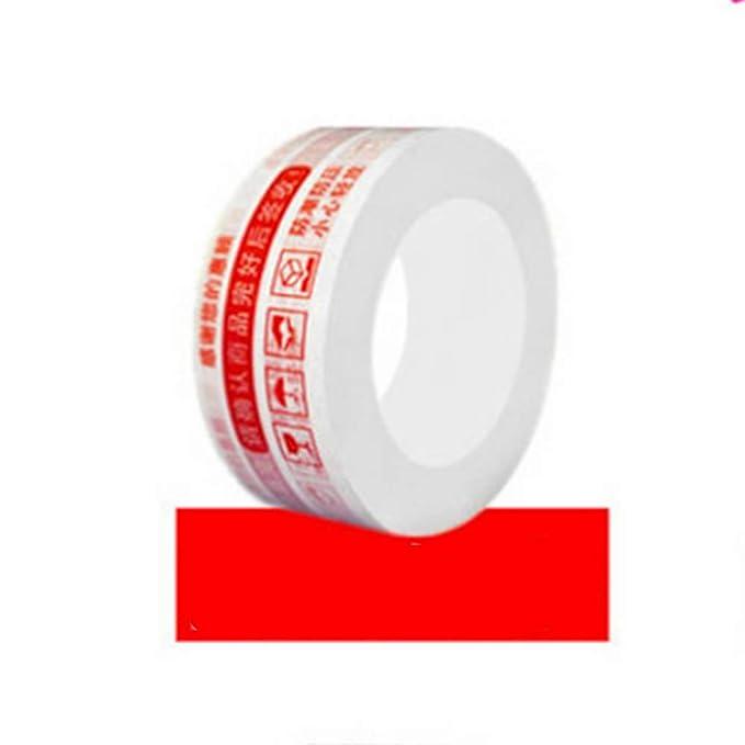4.4cm * 150m Cinta de embalaje frágil Advertencia segura para ...