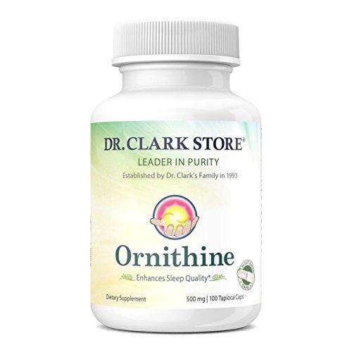 - Ornithine Vegetarian Supplement, 500 mg, 100 Tapioca Capsules