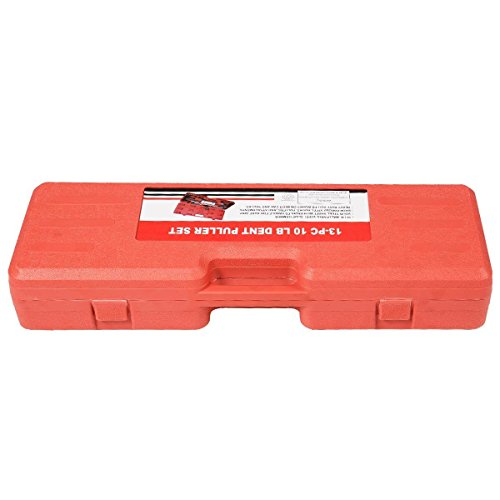 Super buy 13PC Dent Puller w/ Slide Hammer Auto Body Truck Repair Tool Kit HD by Super buy (Image #4)