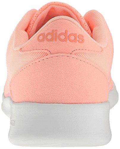 De Vrouwen Van Adidas Cloudfoam Qt Racer W Loopschoen Haze Koraal / Wit / Zon Gloed