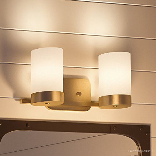 (Luxury Contemporary Bathroom Vanity Light, Medium Size: 7.5