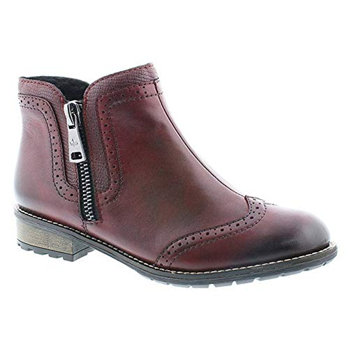 35 Boots Womens Y3361 Ankle Casual Rieker Chianti ZYqHfI