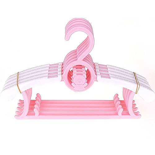 Youzpin 5Pcs/Set Baby Kids Clothes Pants Hook Hanger Rack St