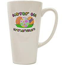 TooLoud Easter Egg Extraordinaire 16 Ounce Conical Latte Coffee Mug
