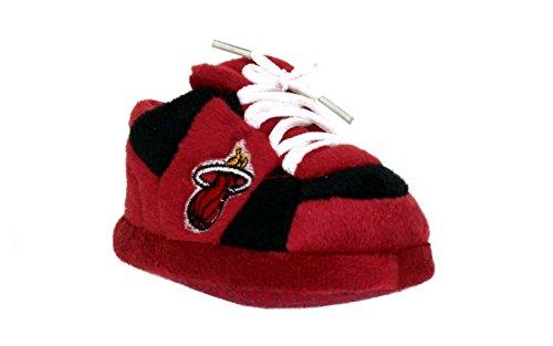 Comfy Feet MHE03PR - Miami Heat NBA Happy Feet Baby Slippers