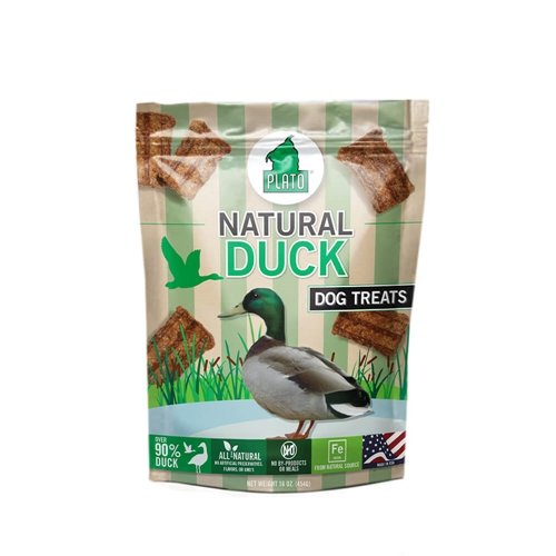 Duck Strips Natural Plato (Plato Smart Dog All Natural Duck Strips Dog Treats)