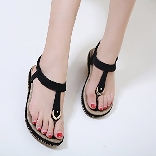 d497191bfb3672 VFDB Women Slingback Thong Sandals Open Toe Summer Platform T-Strap Flip  Flops Shoes