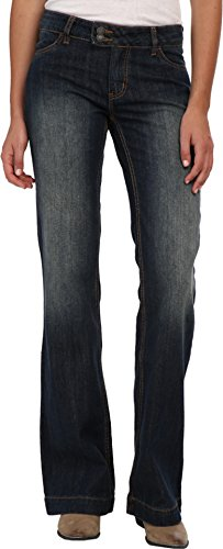 (Stetson Women's 214 City Trouser Longs, Blue, 8 X 36 )