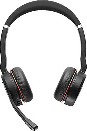 Jabra EVOLVE 75 MS - Auriculares Inalámbricos - Bluetooth - 40 mm - Estéreo - Diseño