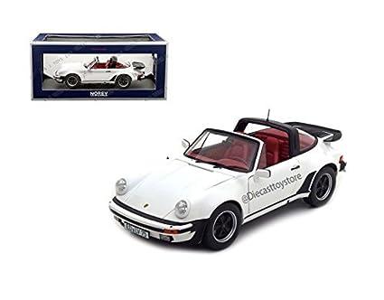 Norev 1/18 Scale Diecast 187660 Porsche 911 930 Turbo Targa 3.3 1987 White