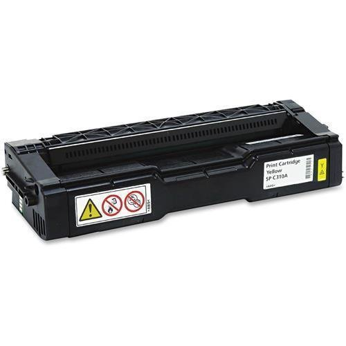 Ricoh Imaging Company, Ltd. - Ricoh Sp-C310a Yellow Toner Cartridge - Yellow - Laser - 2500 Page - 1 Each