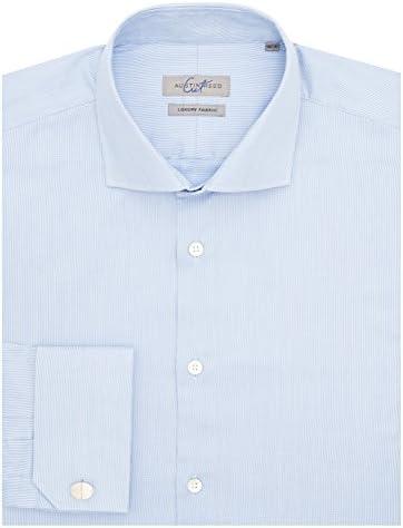 Austin Reed Hombre la ropa azul claro Semi de corte normal ...