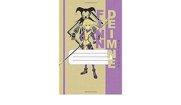 Finn Deimne Notebook Danmachi Finn 112 Lined Pages 6 X 9 In Anime Notebook Diamond Diamond A N 9798645252762 Amazon Com Books