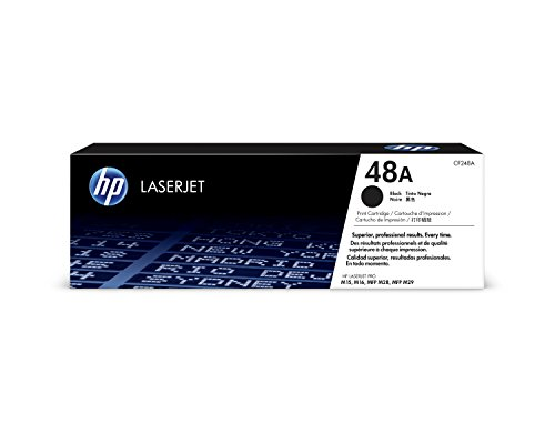 HP 48A (CF248A) Black Toner Cartridge for HP LaserJet Pro M15w MFP M28w M29w (Best Soho Laser Printer)