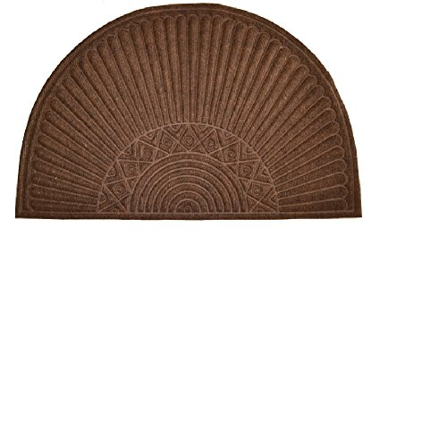 Imports Decor Synthetic Half Round Door Mat, 24