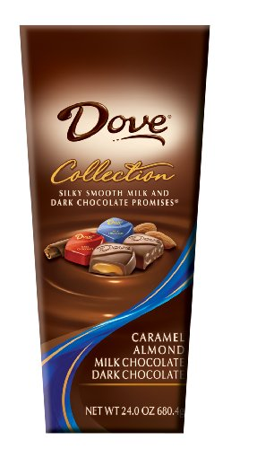 Dove Milk & Dark Chocolate Variety Pack, 24-Ounce Package