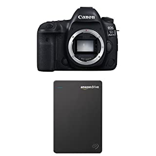 Canon EOS 5D Mark IV Full Frame Digital SLR Camera Body with Seagate 1TB Hard Drive and 1-Year Amazon Drive (B01N2T8GJ4) | Amazon price tracker / tracking, Amazon price history charts, Amazon price watches, Amazon price drop alerts