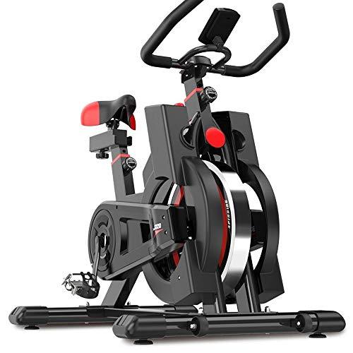 YoleoStore Upright Exercise Bikes (Indoor Studio Cycles) – Studio Quality with Heart Rate Monitor, Large Bidirectional…