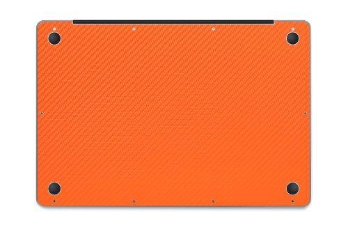 iCarbons Orange Carbon Fiber Vinyl Skin for MacBook Pro 17'' (Silver Unibody 2009-2012) Full Combo by iCarbons (Image #2)