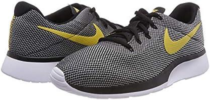 Nike Tanjun Racer Mens 921669 009 Black Wheat Gold White Running Shoes Size 8