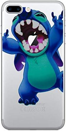 iPhone 8 Stitch Estuche de Silicona / Cubierta de Gel para Apple iPhone 8 (4.7