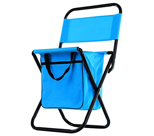 Wealers Kid Compact Foldable Camping Stool Chair Blue