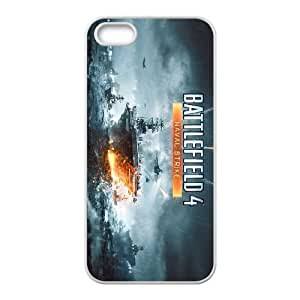 games Battlefield 4 Naval Strike iPhone 5 5s Cell Phone Case White gift z004hm-2324791